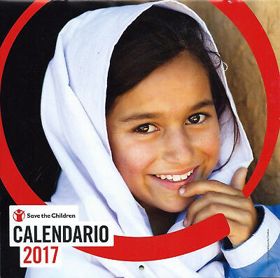 Calendario 2017 Save The Children Cm 21 X 21 (42 Aperto)