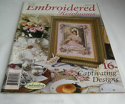 Embroidered Heirlooms with 16 captivating designs cross stich needlework