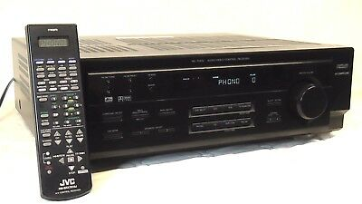 JVC RX-7010V Audio Video Control Receiver With remote control