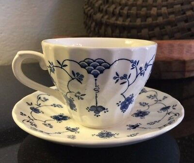 """Churchill Finlandia 2 5/8"""" Cup and Saucer Made in England Pristine - up to 14"""