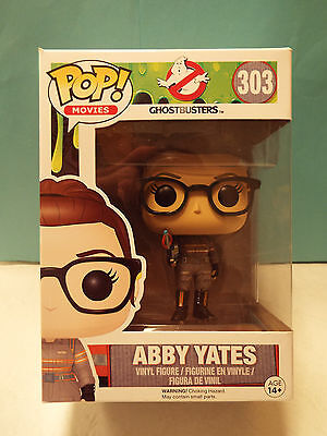 ABBY YATES 303 FUNKO POP Movies Ghostbusters 3 Molly Melissa McCarthy Figure NEW