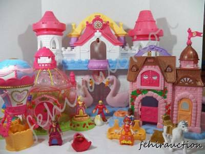 ~Fisher Price~ Imaginext Precious Places Swan Princess Castle Hot Air Balloon
