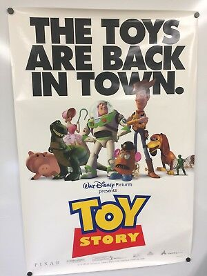 Toy Story 1995 original DS Style A US one-sheet movie poster
