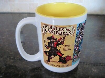Walt Disney World/Disneyland-Poster Art Mug, Pirates,Jungle Crusie,Adventureland