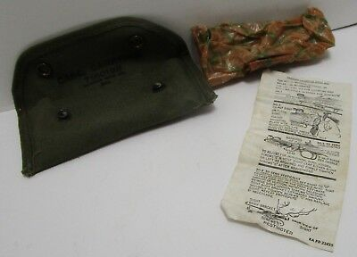 Vintage Wwii M15 Grenade Launcher Sight W/case & Instructions