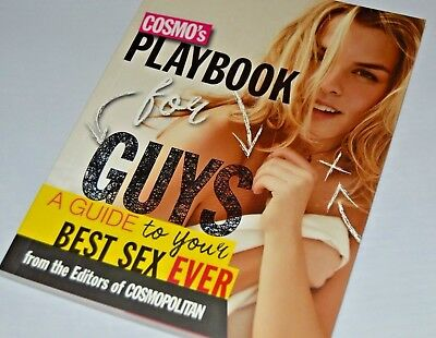 Cosmo's Playbook for Guys A Guide to the Best Sex Ever - Sex Advice Book *New*