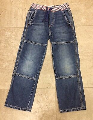 Mini Boden Boys Pull Up Jeans Age 8