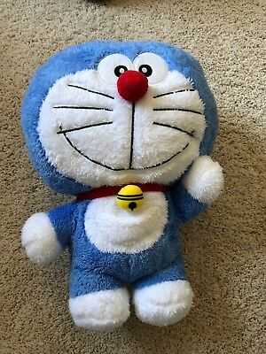 "Doraemon 16"" Plushy doll soft stuffed toy Taito BIG Japan UFO Prize Jumbo Fluffy"