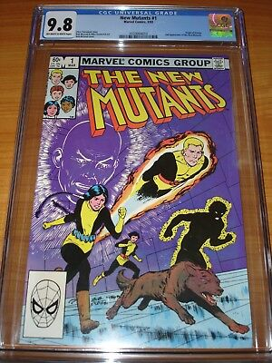 NEW MUTANTS #1 - CGC 9.8 NM/MT (2nd App of New Mutants ; Off-White to White Pgs)