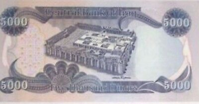 50000 IRAQI DINAR (10 5000 ) notes  AUTHENTIC! IQD