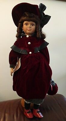 """1993 ANCO USA Company Doll Collection ~ Rachel ~ 22"""" With Stand"""