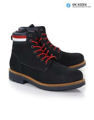 dd19ae6a1 TOMMY HILFIGER MEN S Patrick 6-Inch Lace Up Suede Boots - Midnight ...