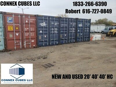40' Used Shipping containers for sale Raleigh, North Carolina