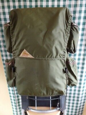 "Vintage KELTY Cruiser External Frame Backpack  34""x16""x6"" 38L. with rain cover"