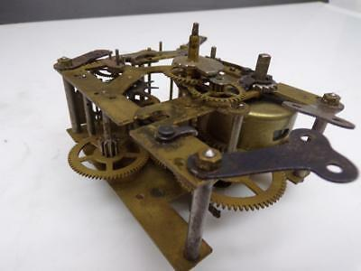 German Franz Hermle Technik F.H.T.  Brass Clock Movement English Clocks  E464a