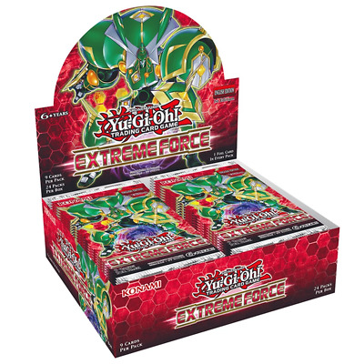 YUGIOH! TCG Extreme Force Booster Box Includes 24 Booster Packs