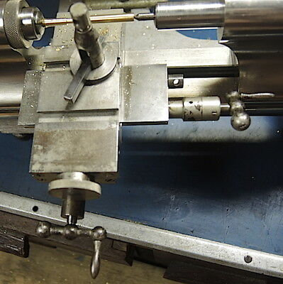 Watchmakers Lathe Derbshire Triple Compound, Lathe Triple Slide