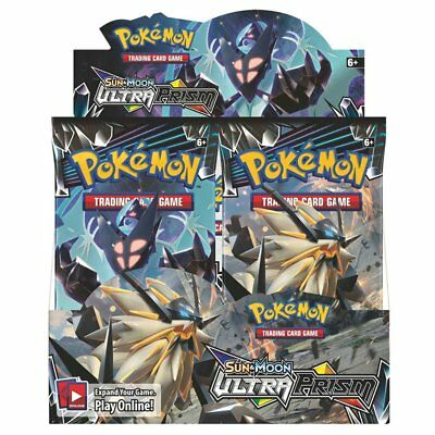 POKEMON TCG Sun & Moon Ultra Prism Booster Box - Includes 36 Booster Packs