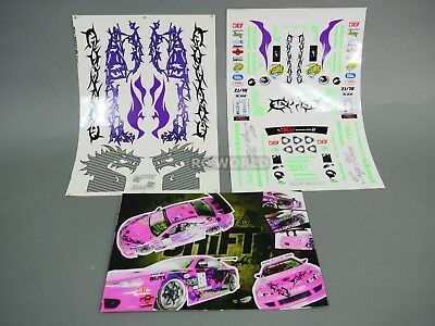 RC 1/10 Car DRIFT Decals TEAM DRAGON NEED FOR SPEED DRIFT Decals Stickers *NEW*