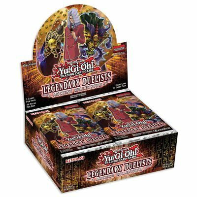 YUGIOH! TCG Legendary Duelist Ancient Millennium Booster Box Includes 36 Booster