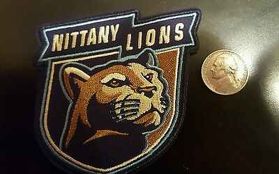 """Penn State University Nittany lions embroidered iron on patch 3"""" x 3"""" Awesome"""