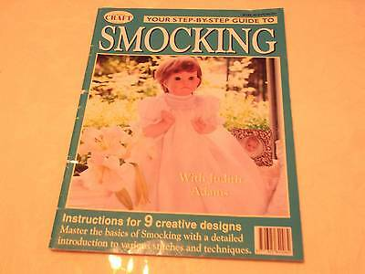 Step by Step Smocking - Judith Adams 9 designs Learn Basic Techniques