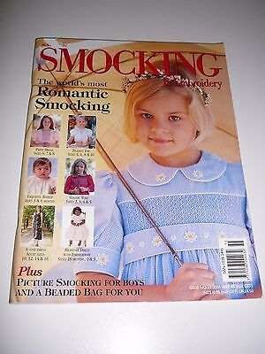 Australian Smocking & Embroidery Magazine #55 2001 Beaded Bag Boys Outfit