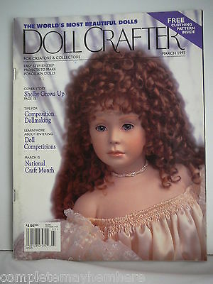 Doll Crafter March 1995- Doll Competitions, National Craft Month