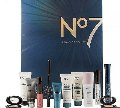 Boots No7 12 Days of Beauty Kit Skincare & Make Up SEALED Free Shipping NEW