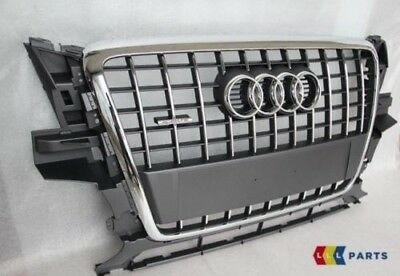 New Genuine Audi Q5 09-12 Grey Front Center Radiator Bumper Grill 8R0853651 1Qp