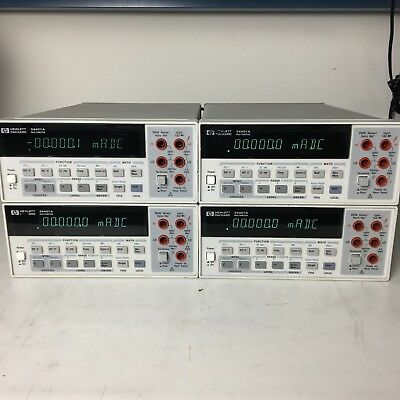 (1) Agilent/Keysight/HP 34401A Digital Multimeter, 6½ digit ALL FUNCTIONS TESTED