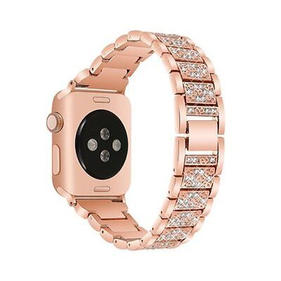 Watch Band For Apple Series 1/2/3 Sport Edition Replacement Strap-42mm Rose Gold
