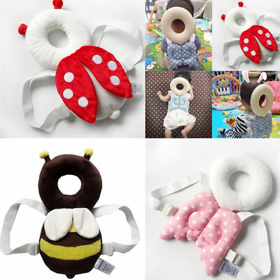 New Baby Infant Toddler Head Back Protector Safety Pad Harness Headgear Headrest