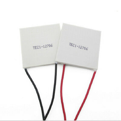 2PCS TEC-12706 Thermoelectric Cooler Peltier Chip 85N/cm^2 Assembly pressure BY1