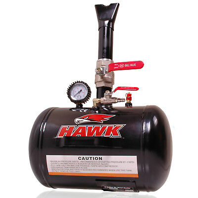 HAWK 5 GALLON 19 LITRE 145psi CAR VAN 4X4 TYRE WHEEL RIM AIR BEAD BLASTER SEATER