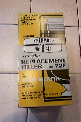Vintage NIB NOS Genuine Thermos Replacement Filler 72F Pint Size WIDE MOUTH