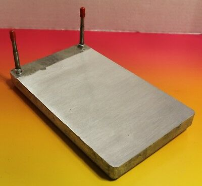 Single circuit cold plate 6 x 10 soda beer