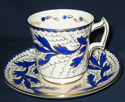 Royal Chelsea - Royal Blue Vines - Teacup Set