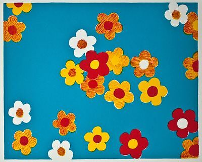 Stephen Craig - Flowers III - Farblithographie - 2007