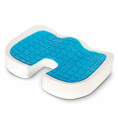 Coccyx Orthopedic Seat Gel Cushion Back Support Tailbone Sciatica Pain Relief