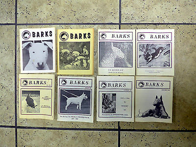 Bull Terrirer Club of America BARKS Official Magazine Book Dogs Show Lot of 49