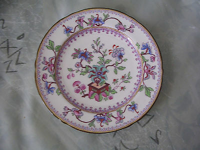 "Royal Worcester England Fine Bone China Colorful Plate in EUC 6 1/2 ""   #73"