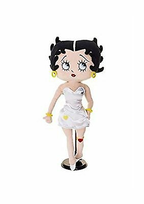 Betty Boop Doll In White Dress 16'' H