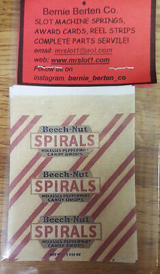 Repo Mint Wrappers For Antique Slot Machine Mw#33 Spirals 10 Pack