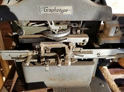 Graphotype ADDRESSOGRAPH MODEL 6381 Dog Tags / I.d plates ELECTRIC