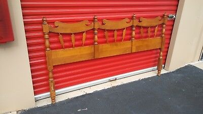 TELL CITY Young Republic Rock Maple King Size Chairback Headboard 8128H