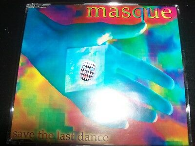 Masque Save The Last Dance Australian CD Single