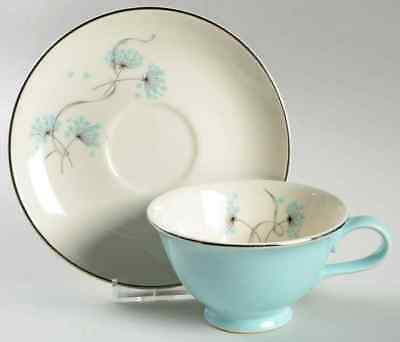 Taylor, Smith & Taylor BLUE LACE Cup & Saucer 726472