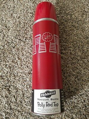 American Thermos Bottle Co Polly Red Top Icy Hot Vaccum Container (New-No Box)