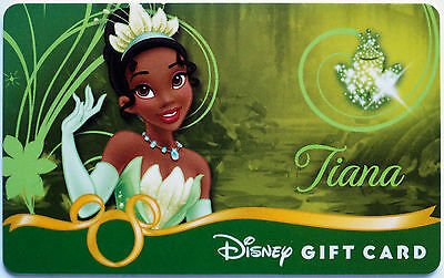 Older Disney Princess Debut Gift Card: Princess & the Frog's TIANA New Condition